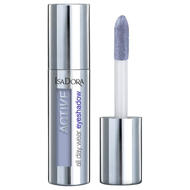 Тени для век Isadora Active All Day Wear Eyeshadow жидкие устойчивые тон 05 lavender blue