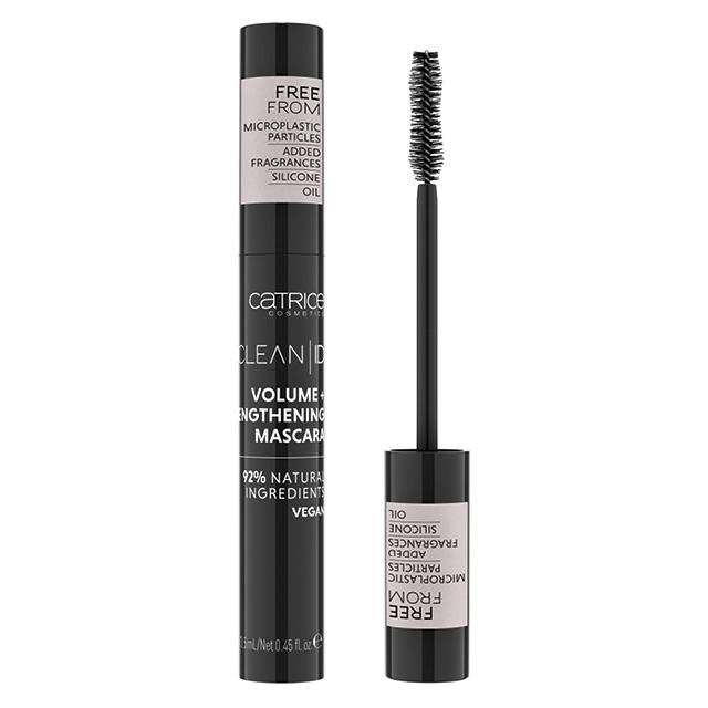 Тушь для ресниц Catrice Clean ID Volume And Lengthening Mascara тон 010 (черная)