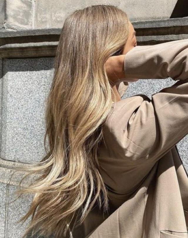 Длинные волосы да