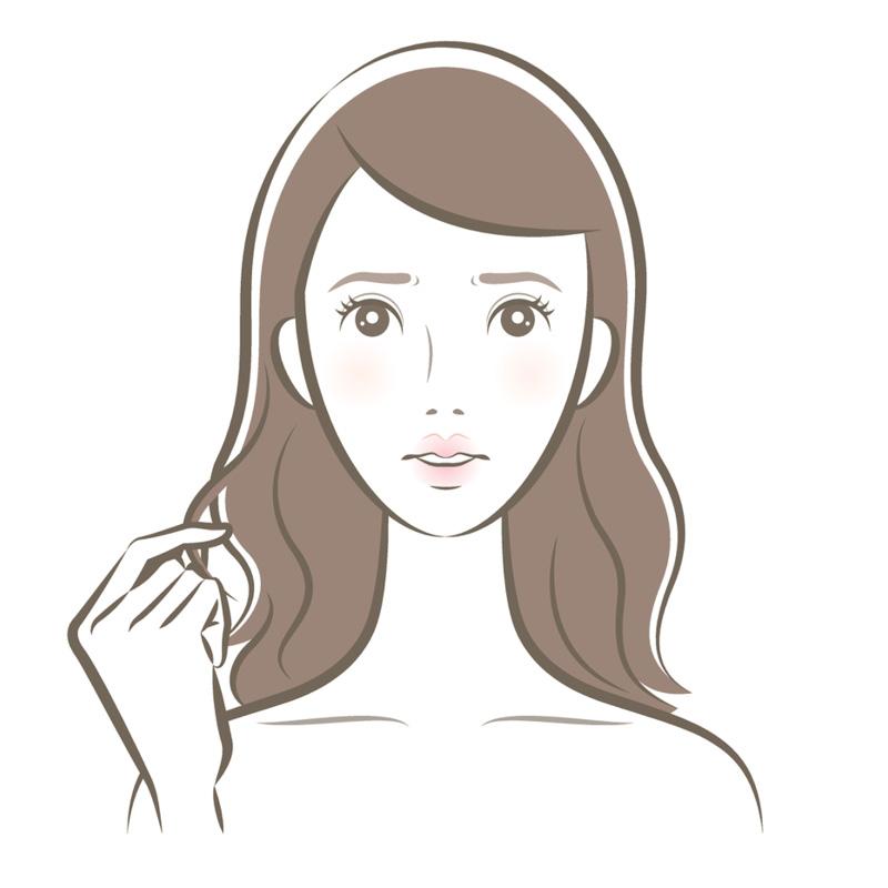 Этапы выпрямления волос феном