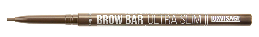Карандаш для бровей Luxvisage Brow Bar Ultra Slim механический тон 301 Taupe
