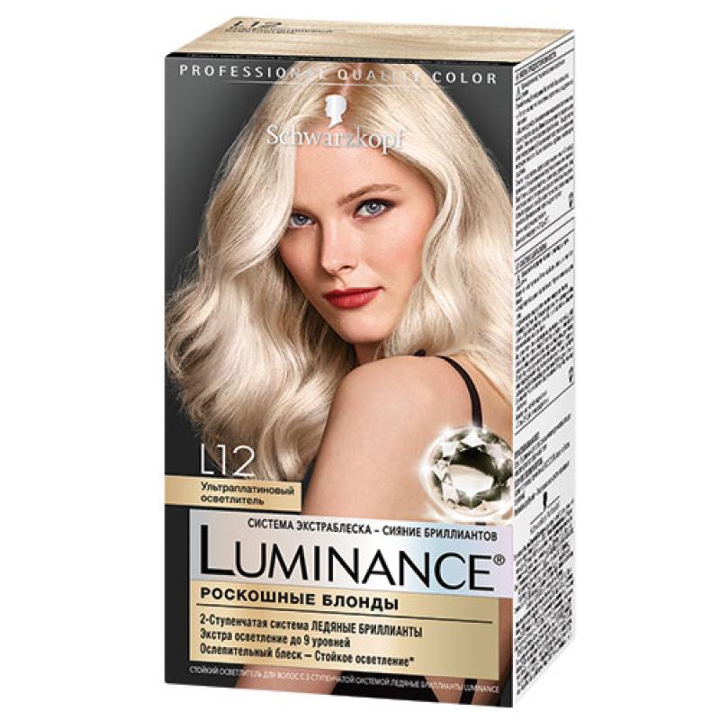 Краска для волос Luminance, тон L12, Schwarzkopf