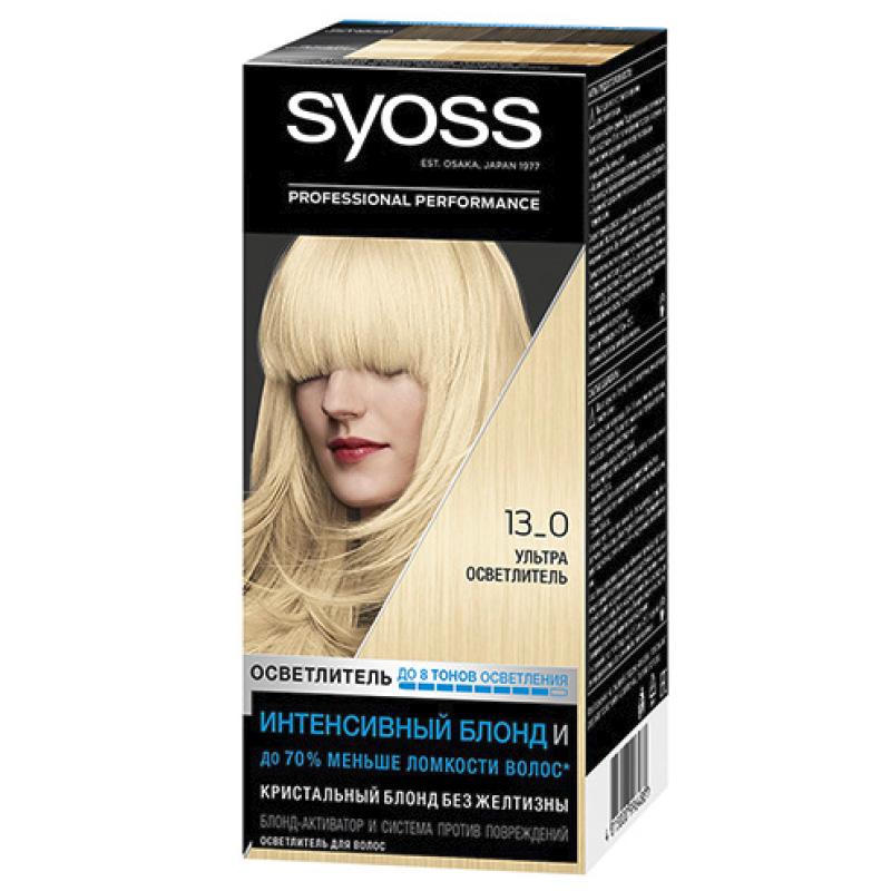 Краска для волос Salonplex, «Ультраосветлитель», Syoss