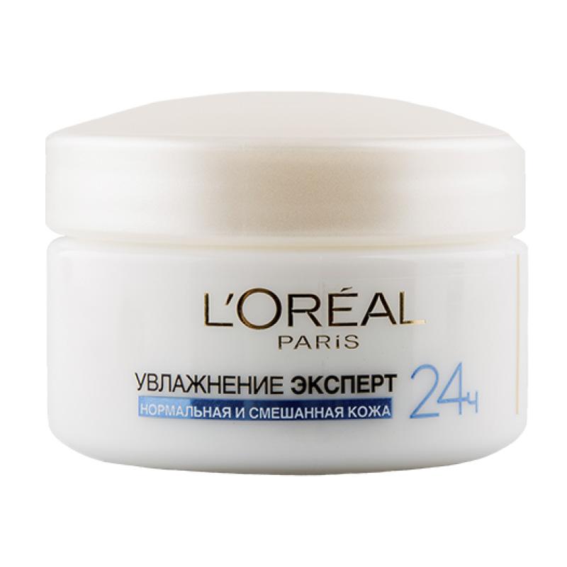 Крем для лица дневной L'Oreal Увлажнение Эксперт для нормальной и смешанной кожи