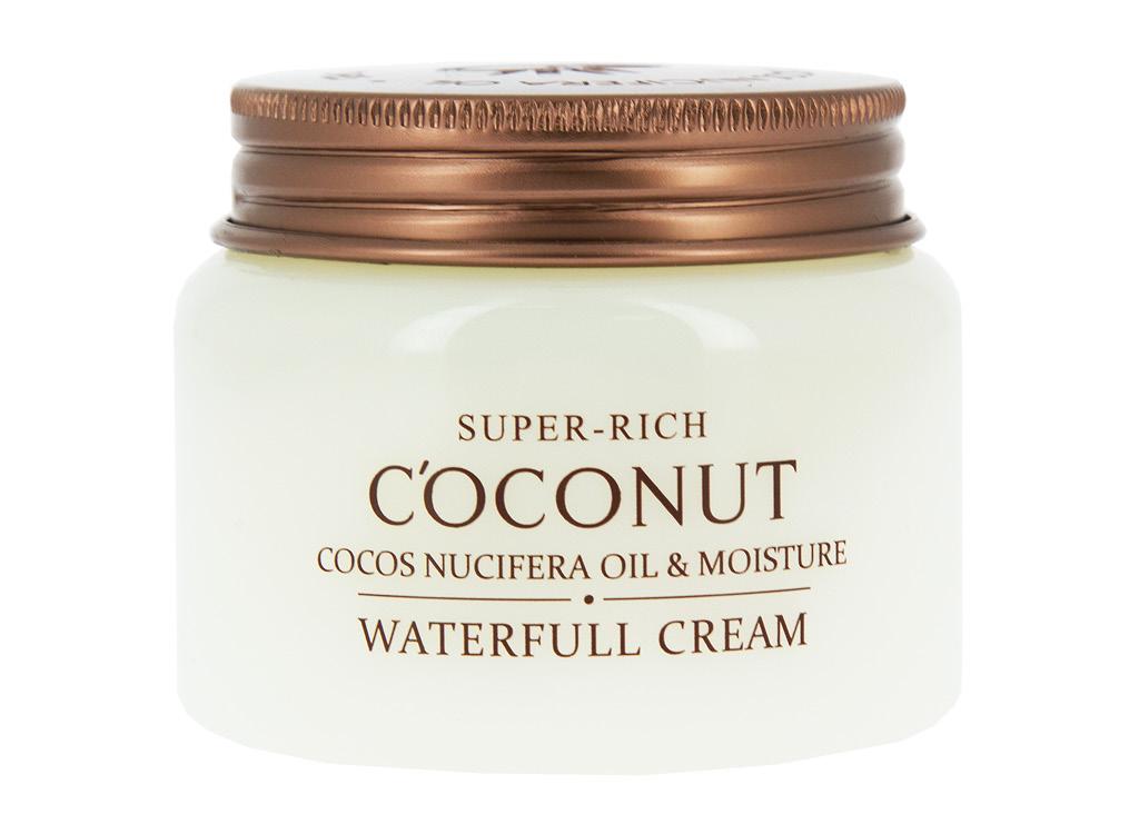 Крем для лица увлажняющий Super-Rich Coconut Esfolio