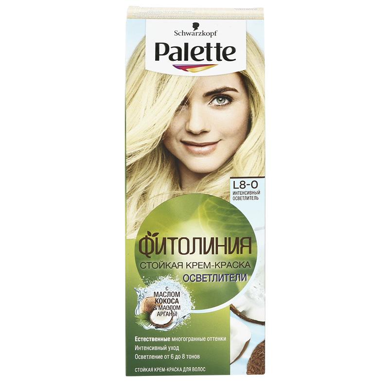 Крем-краска для волос «Фитолиния», «Интенсивный осветлитель», Palette