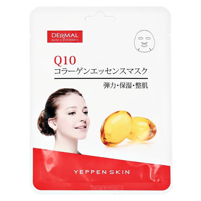 Маска для лица Dermal Yeppen Skin с коллагеном и коэнзимом Q10 (обновляющая)