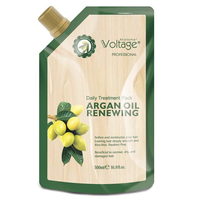 Маска для волос Kharisma Voltage Argan Oil восстанавливающая с маслом арганы
