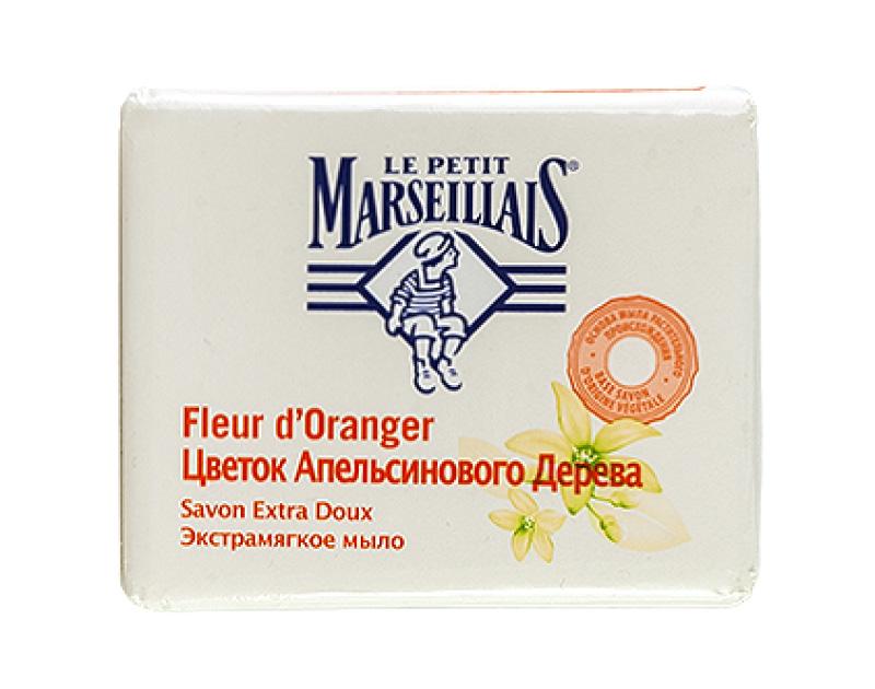 Мыло твердое Le Petit Marseillais Цветок апельсинового дерева