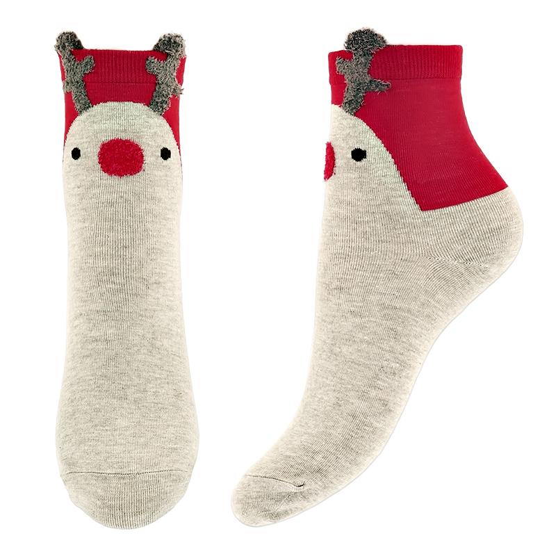 Носки женские Socks Christmas Deer р-р единый