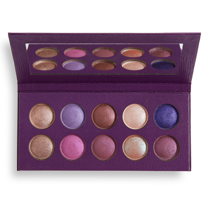 Палетка теней для век Revolution Pro Colour Focus Shadow Palette тон Rock & Royal