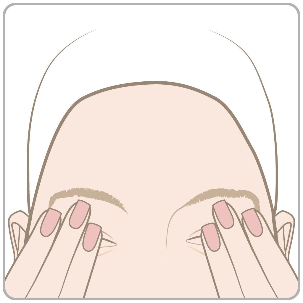 схема массаж глаз 2