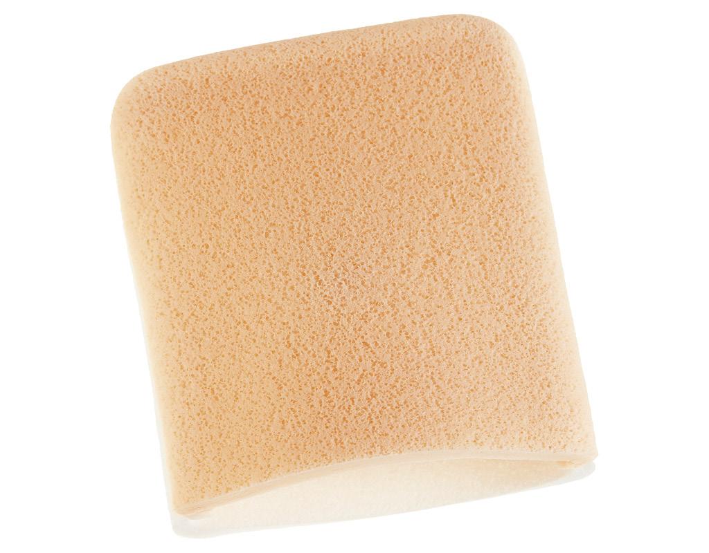 Спонж-рукавичка для очищения лица DECO. Clean 10x7,5 см
