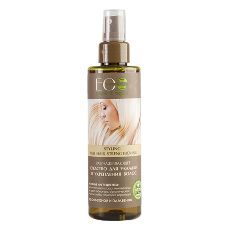 Средство для укладки и укрепления волос Eo Laboratorie разглаживающее