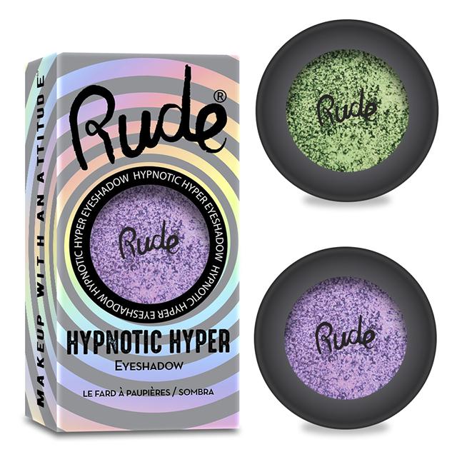 Тени для век Rude Hypnotic Hyper Eyeshadow
