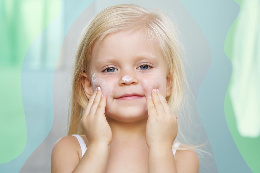 детский зимний крем для лица и рук