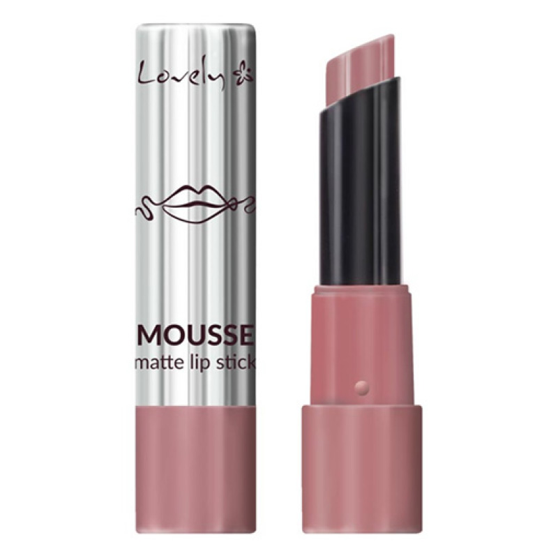 Губная помада Lovely Mousse Matte Lipstick тон 3 матовая