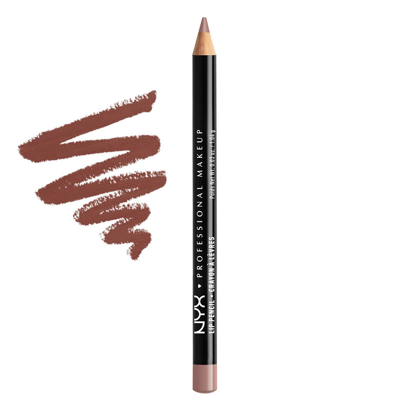 Карандаш для губ NYX Professional Makeup Slim Lip Pancil тон 809 Mahogany