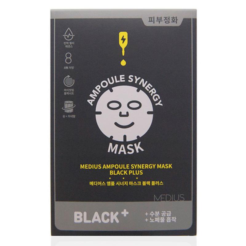 Маска для лица Medius Ampoule Synergy Mask очищающая