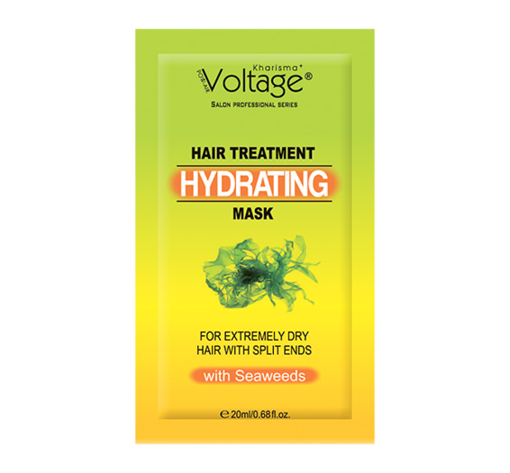 Маска для волос Kharisma Voltage с водорослями для сухих и ломких волос