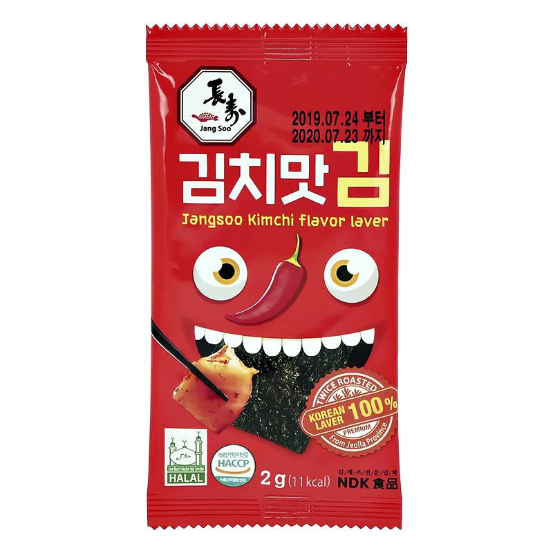 Морские водоросли Jangsoo со вкусом кимчи