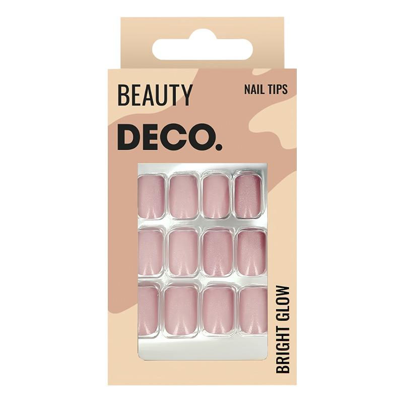 Набор накладных ногтей DECO. Bright Glow Pinky