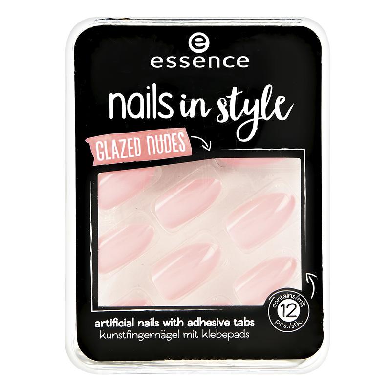 Накладные ногти Essence Nail In Style тон 08 на клейкой основе