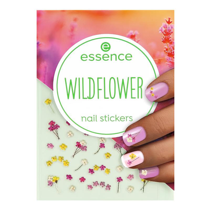 Наклейки для ногтей Essence Wildflower полевые цветы