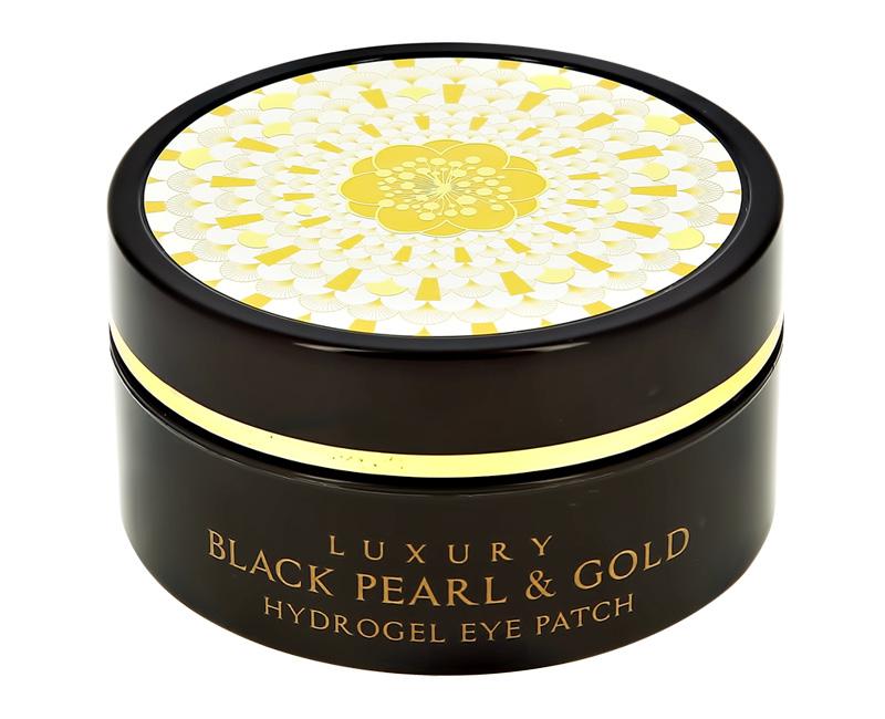 Патчи для глаз Esfolio Re:Ofe Luxury Black Pearl&Gold гидрогелевые с золотом и экстрактом черного жемчуга