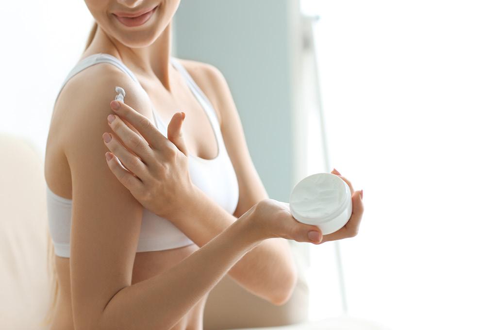 шелушением и повышенной чувствительностью кожи тела
