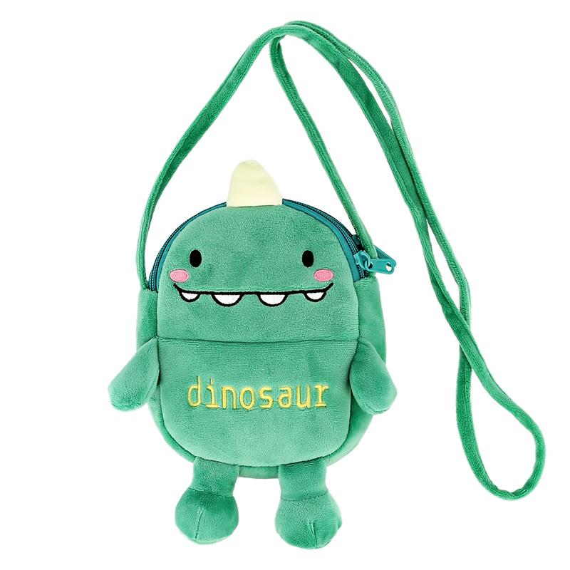 Сумочка через плечо Miss Pinky мягкая (динозаврик)