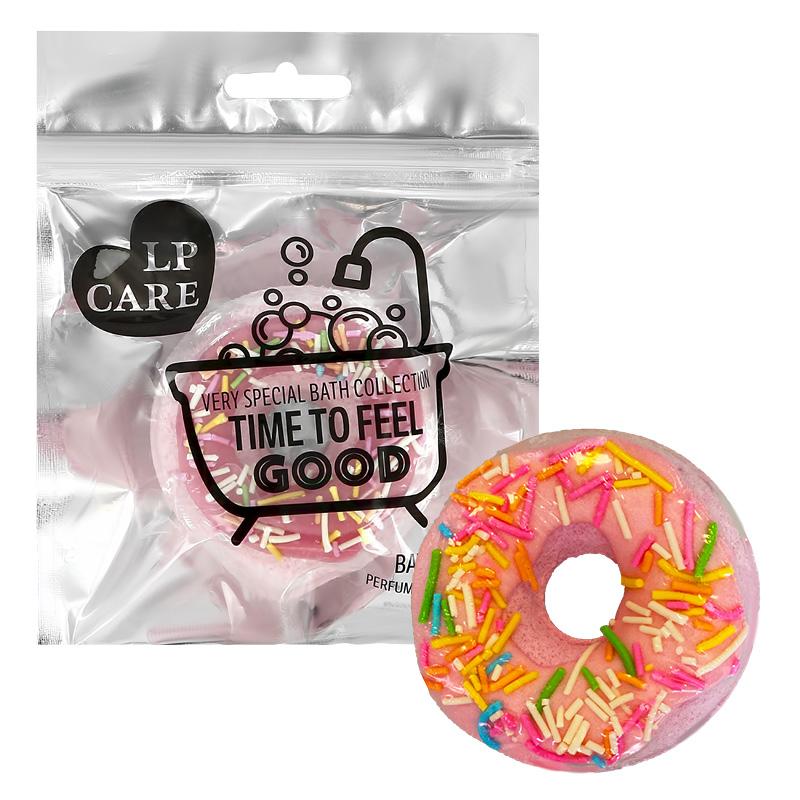 Бомбочка для ванны Lp Care пончик (розовый)
