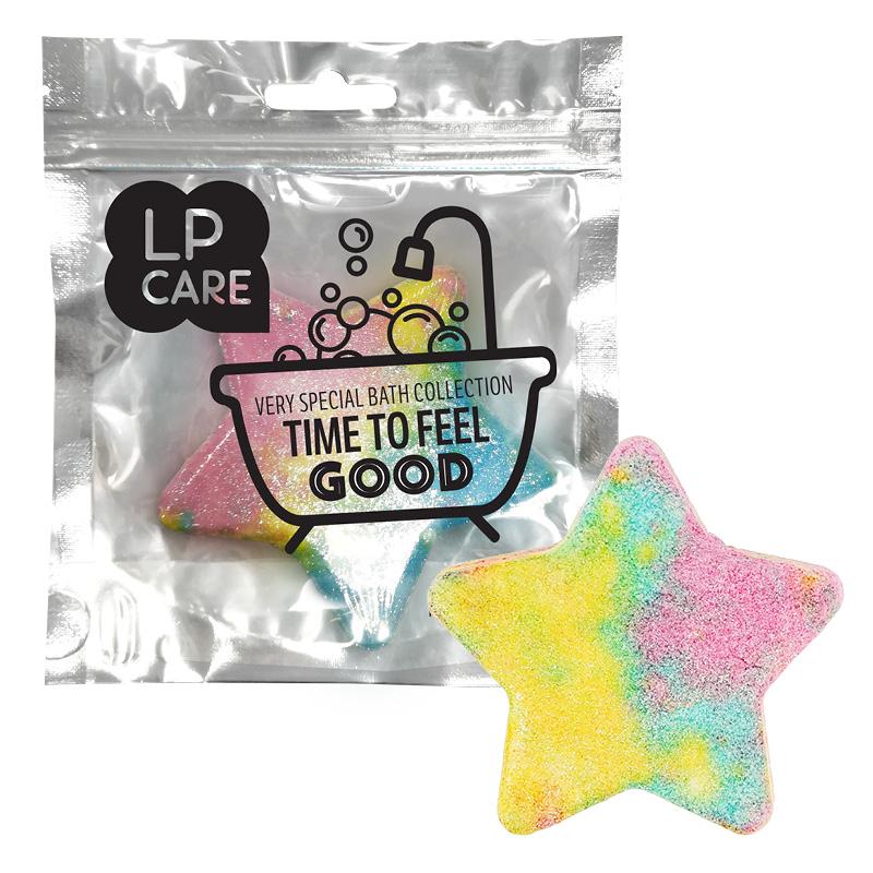 Бомбочка для ванны Lp Care звезда