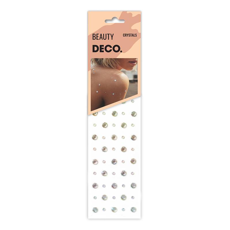 Кристаллы для лица и тела DECO. Crystals By Miami Tattoos (Diamonds)