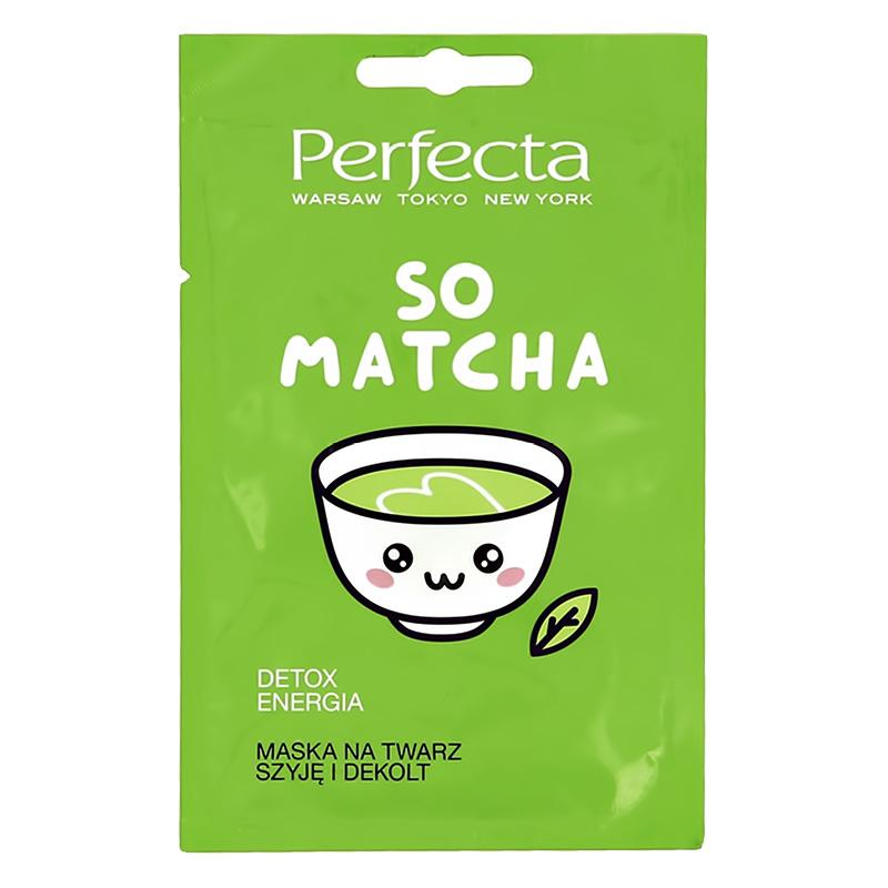 Маска для лица Perfecta So Matcha детокс и энергия