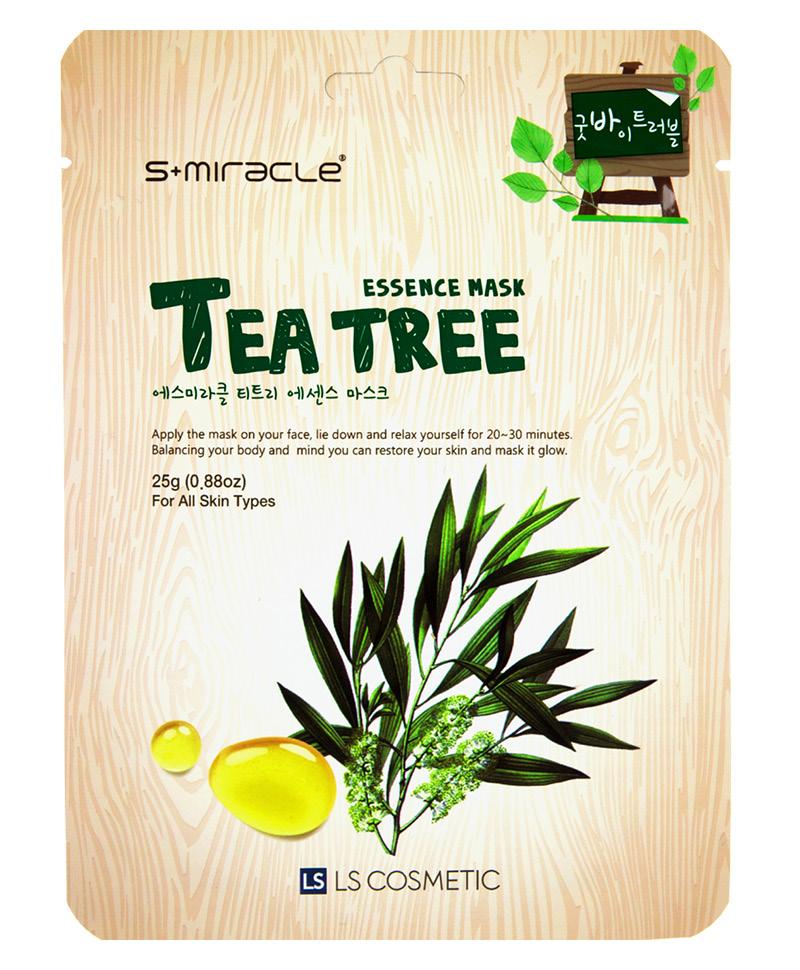Маска для лица S+Miracle с экстрактом чайного дерева
