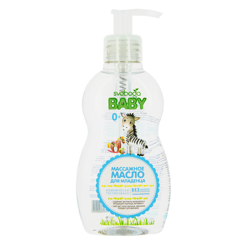 Масло детское Svoboda Baby массажное для младенца
