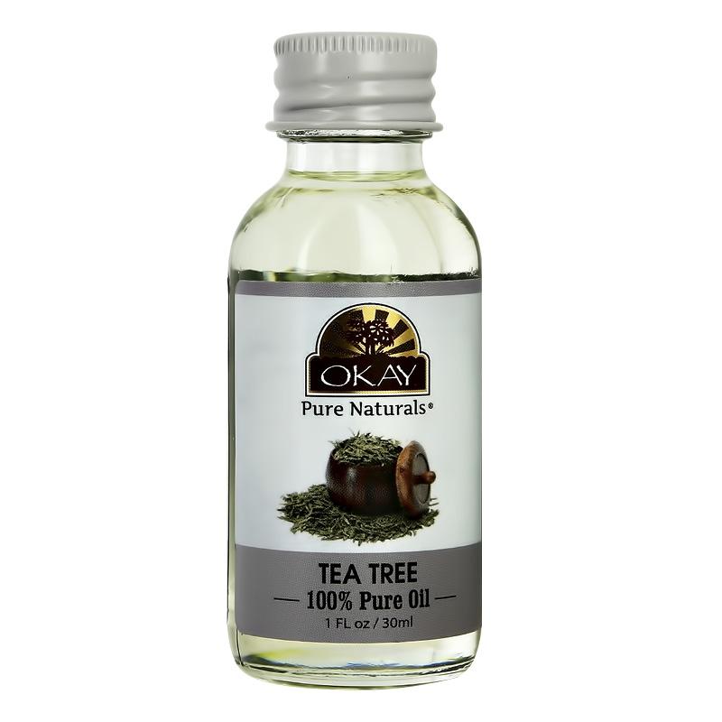 Масло для лица, тела и волос Okay чайное дерево 100%