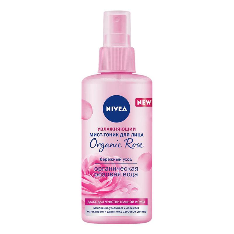 Мист-тоник Nivea Organic Rose увлажняющий с органической розовой водой