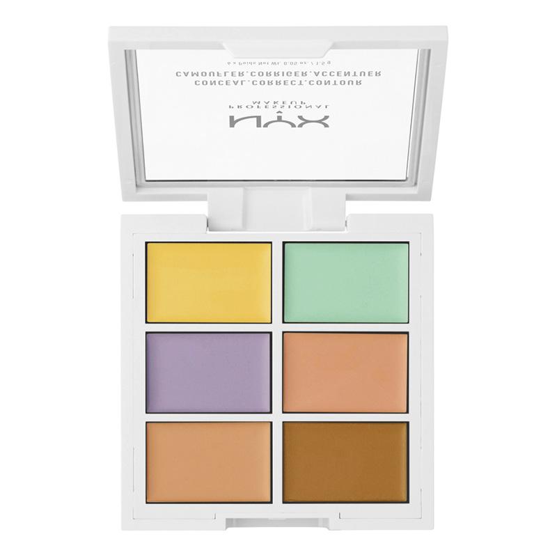 Набор консилеров для лица Nyx Professional Makeup Color Correcting Concealer тон 046 оттенков