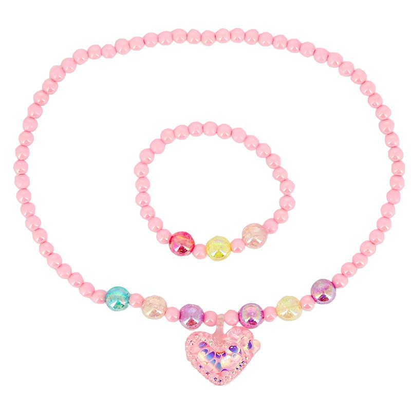 Набор Miss Pinky (бусы, браслет) 3