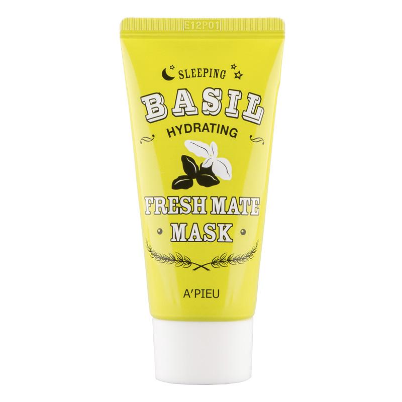 Ночная маска для лица A`Pieu Fresh Mate Mask увлажняющая с экстрактом базилика и баобаба