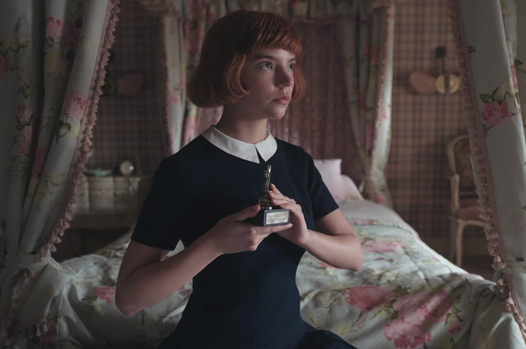 Сериал «Ход королевы» рассказывает историю взросления девушки