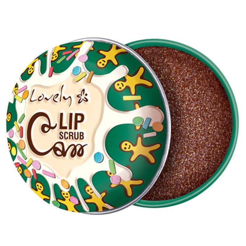 Скраб для губ Lovely Lip Scrub Can Cinnamon Chocolate
