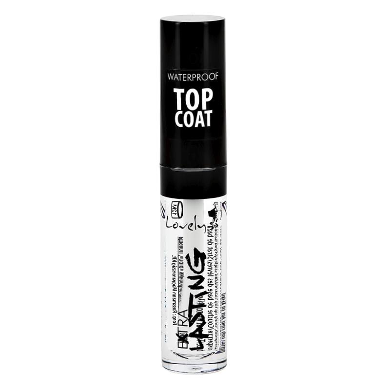 Блеск для губ Extra Lasting Waterproof Top Coat Lovely Gloss