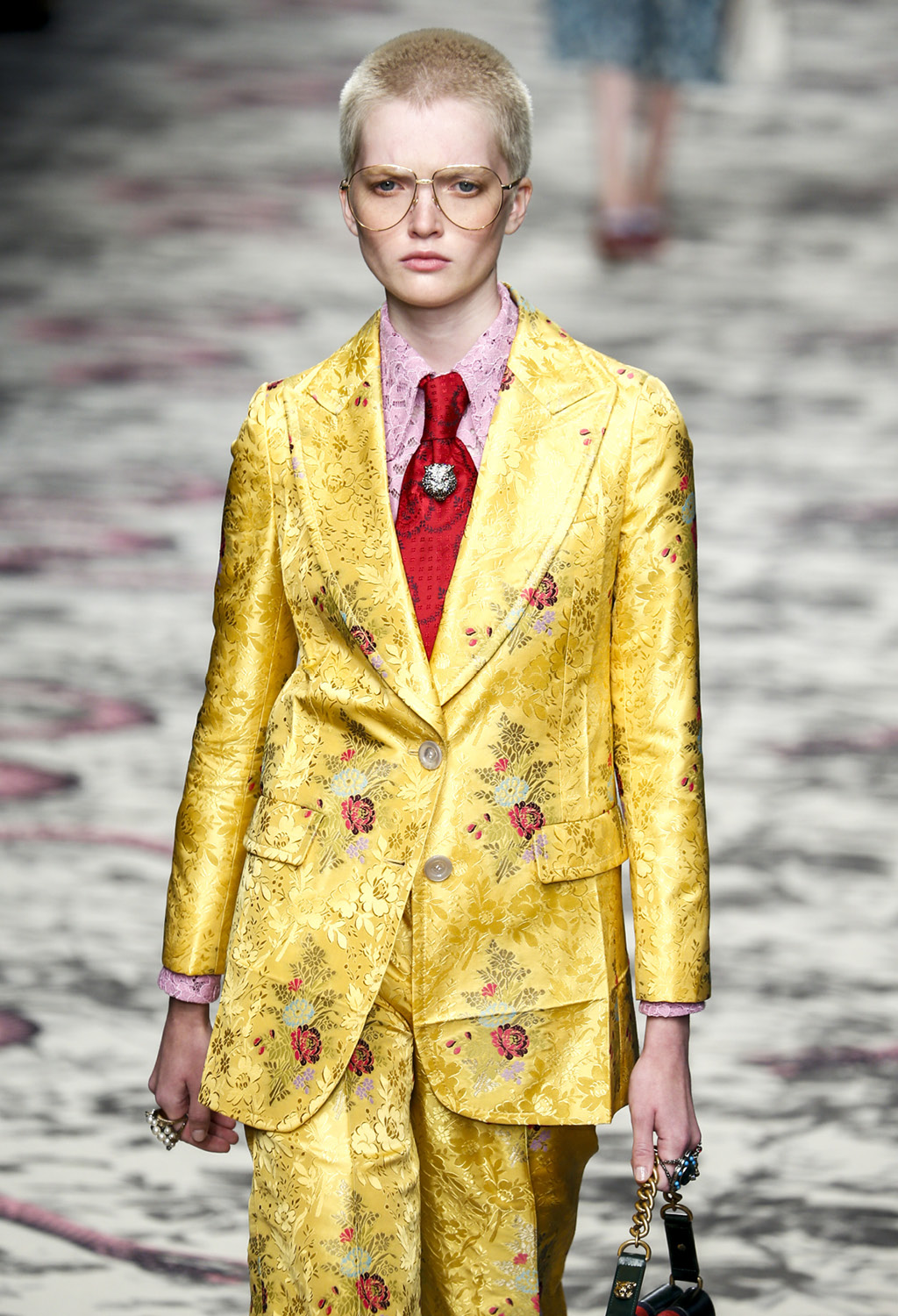 Gucci show as a part of Milan Fashion Week Spring/Summer 2016 on September