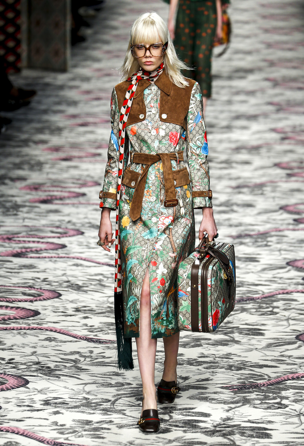 Gucci show as a part of Milan Fashion Week Spring/Summer 2016