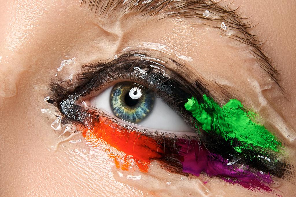 Какой макияж подходит людям с жирными веками
