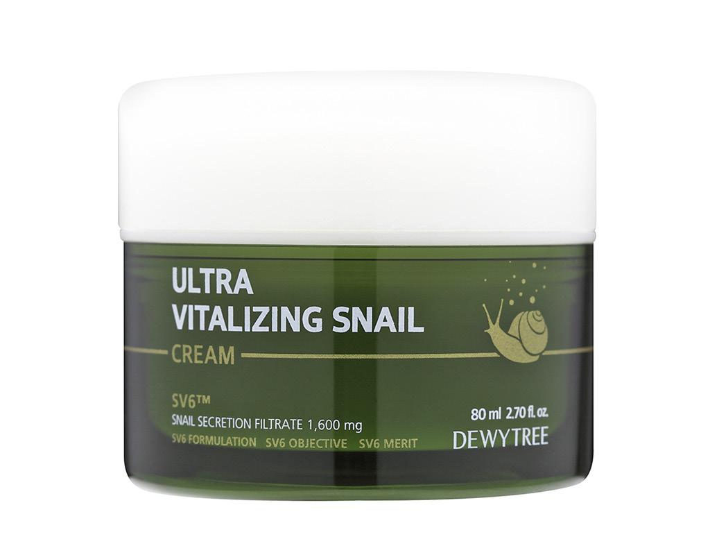 Крем для лица Dewytree Ultra Vitalizing с экстрактом секрета улитки