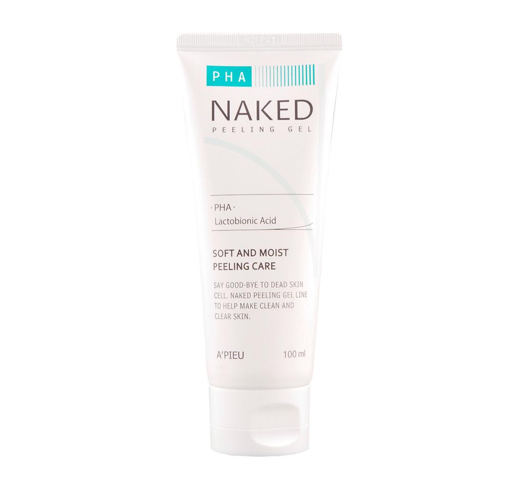 Пилинг-гель для лица A`Pieu Naked скатка с PHA-кислотами